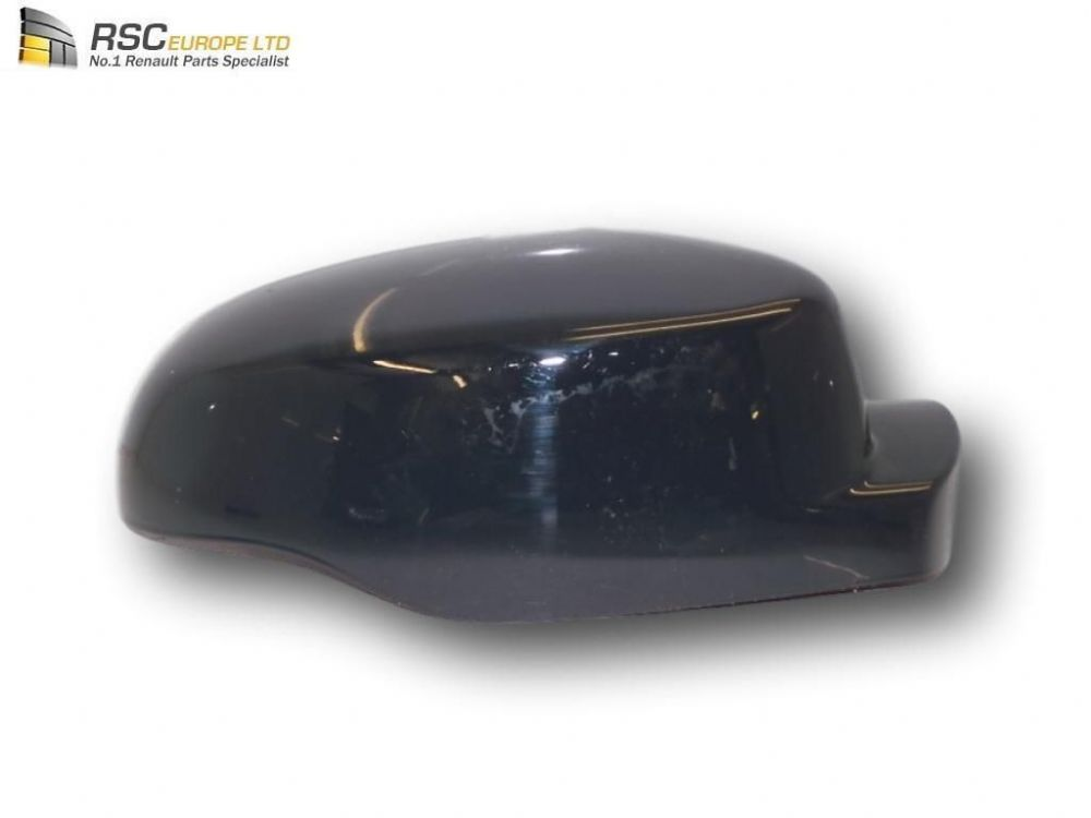 Renault Clio III Ph2 Right Door Mirror Cap Cover Shell in Grey 7701071874